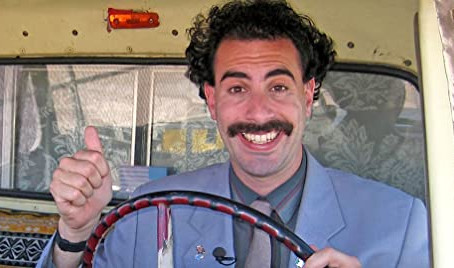 Borat Subsequent Moviefilm -B