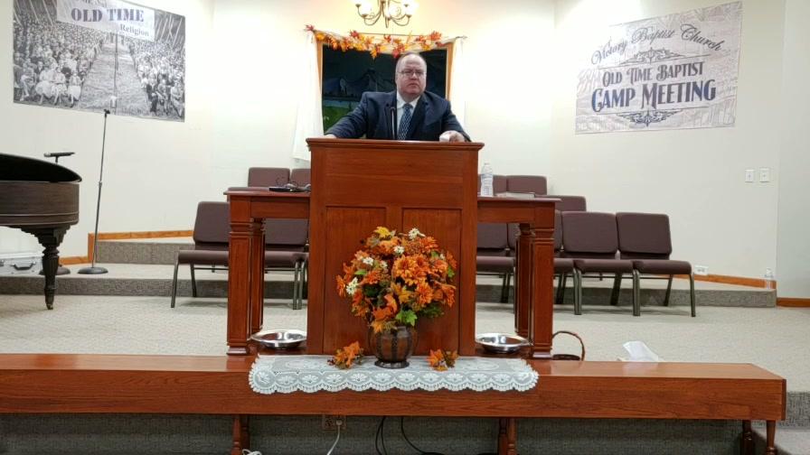 Sunday Evening  Pastor Al Bugbee