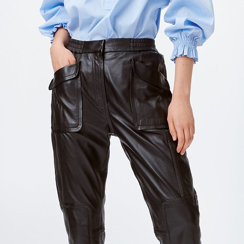 Lotus Lambs Leather Trouser by Munthe