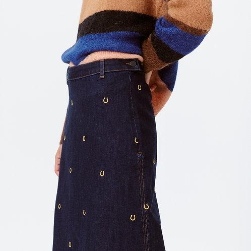 Let Denim skirt by Munthe