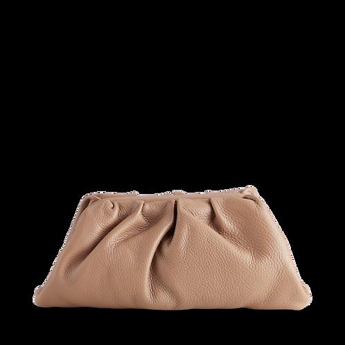 Oksana Clutch Bag in Camel by Markberg