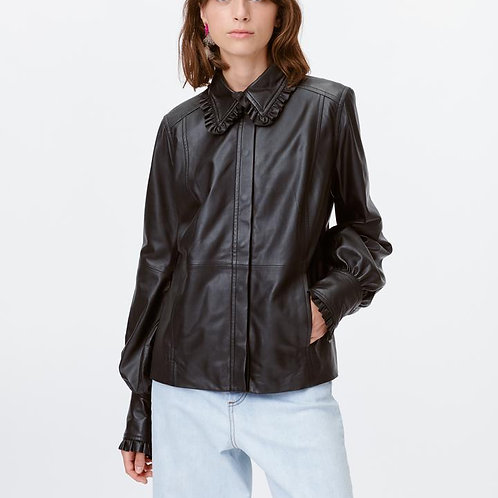 Trumpet Leather Shirt by Munthe