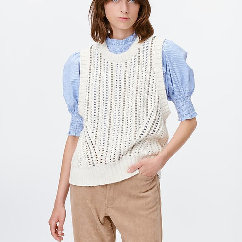 Twin Knitted Vest by Munthe