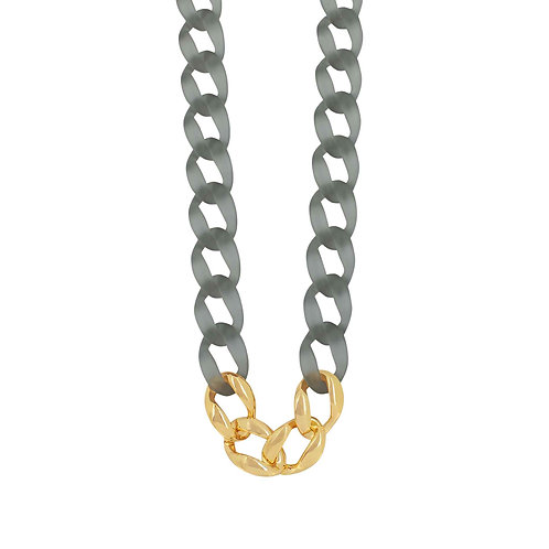 Quiver Grey long necklace - by Dansk