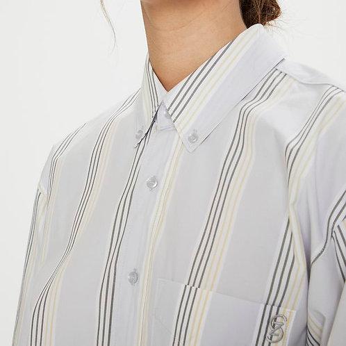 JilianGZ Army/Yellow Striped Shirt by Gestuz