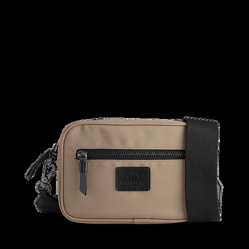 Elea Crossbody Bag in Taupe by Markberg