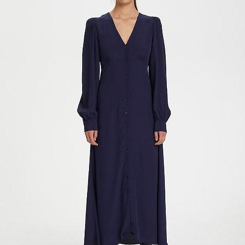 Enise Navy midi Dress by Gestuz