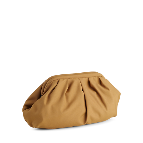 Oksana Recycled Clutch in Mustard Bag by Markberg