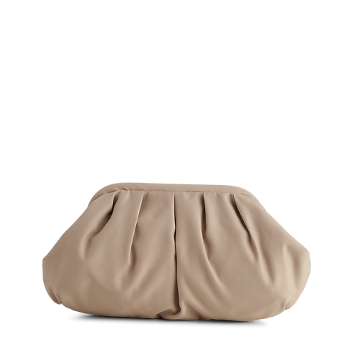 Oksana Recycled Clutch in Taupe Bag by Markberg