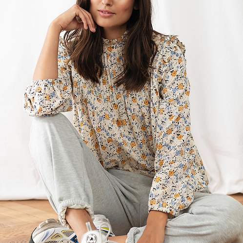 Kalle Shirt  in Creme by Lolly's Laundry