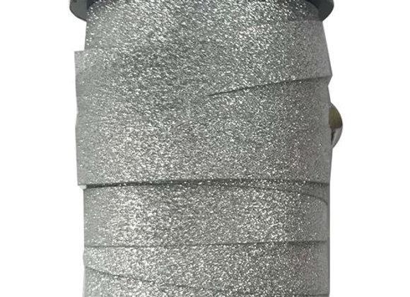 Bobinette paillette argent 10mmx10m - DRAEGER