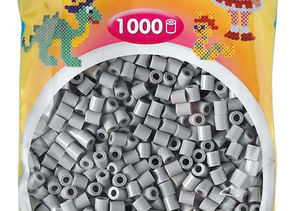 "Perles à repasser ""midi"" couleur gris 207-17 x1000 - Hama"