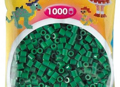 """Perles à repasser """"midi"""" couleur verte x1000 - Hama"""