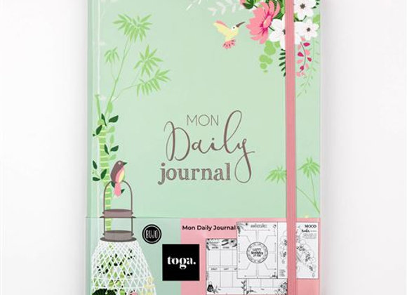 "Bullet Journal ""Mon Daily Journal"" - BJ001 - Draeger by Toga"