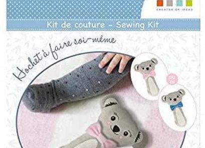 Kit hochets koala à faire soi-même - 12080066 - Artemio