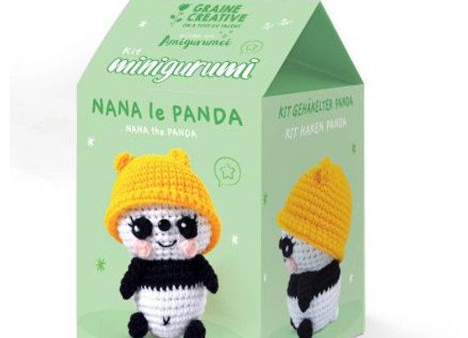 KIT MINIGURUMI NANA LE PANDA