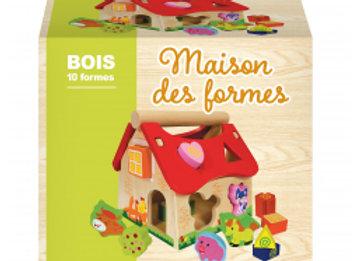 MAISON DES FORMES EN BOIS