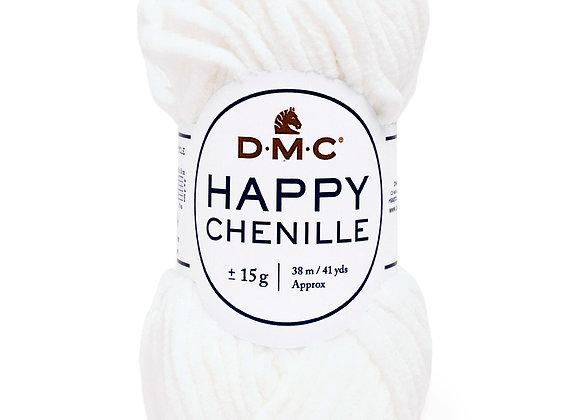 HAPPY CHENILLE BLANC N°20 - DMC - 8143