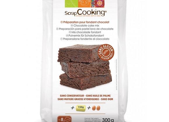 Préparation pour fondant au chocolat sans gluten - Scrapcooking 8532