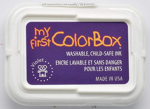 Encreur My First Colorbox - Violet CL68006 - Artemio