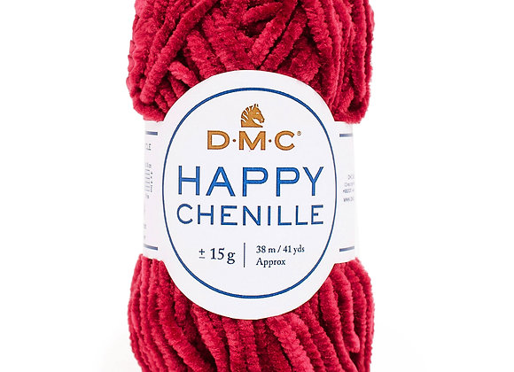 HAPPY CHENILLE BORDEAUX N°31 - DMC - 8143
