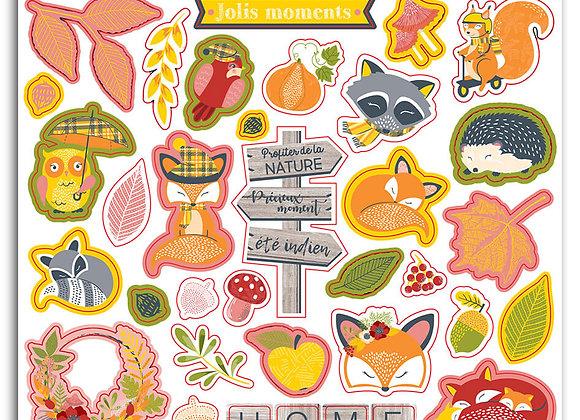 "72 stickers ""Foxy"" - Toga - STF119"