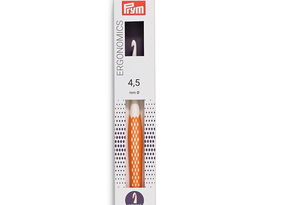 Crochet ergonomique 4,5mm-plastique- PRYM