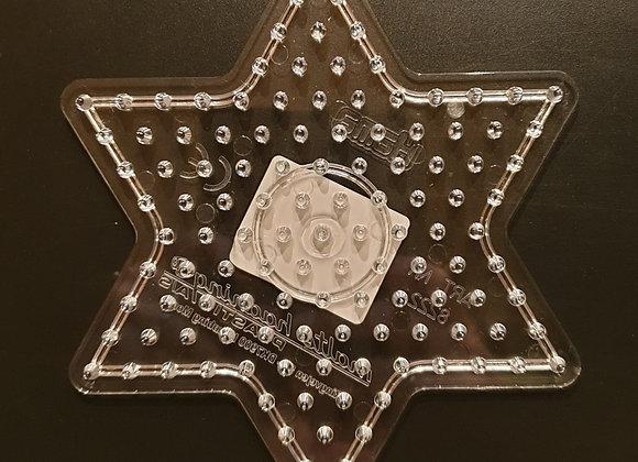 Plaque ETOILE pour perles à repasser taille maxi - Hama