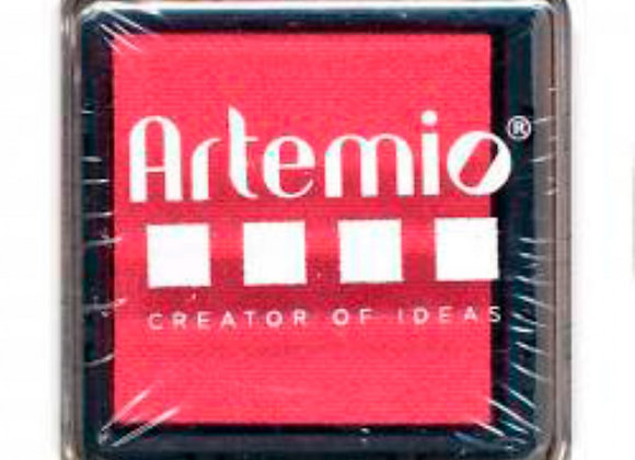 Encreur 3x3 cm - Scarlet -10005084- Artemio