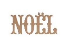 """Silhouette """"NOEL"""" en MDF - Artemio"""