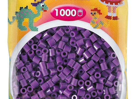 "Perles à repasser ""midi"" couleur violet  x1000 - Hama"