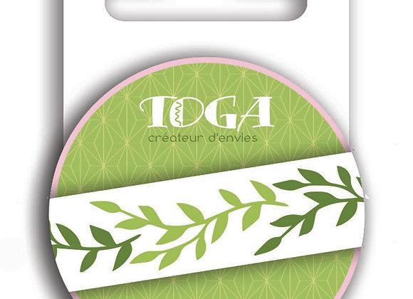 """Masking tape """"Foliage"""" 10m - Toga"""