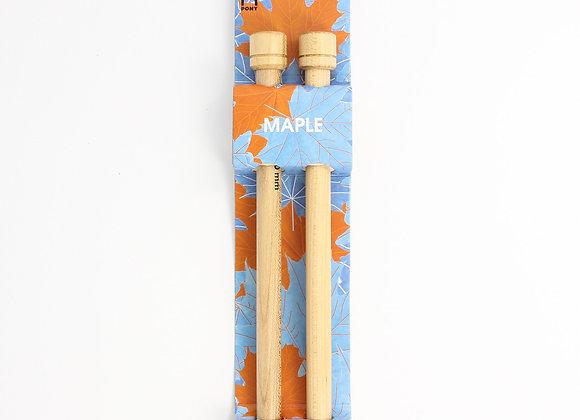 Aiguilles à tricoter 12 mm - en bois d'érable - PONY