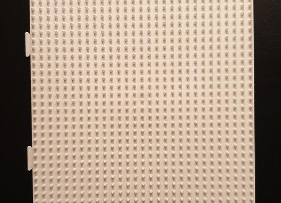 Plaque carrée blanche grand modèle emboîtable 234 - Hama