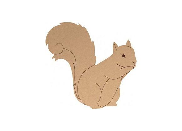 Silhouette à décorer écureuil- Artemio-14003036