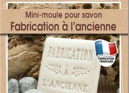 """Mini moule à savon """"Fabrication à l'ancienne"""" - Graine Créative - 200603"""