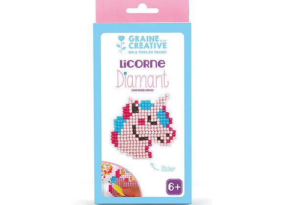 KIT DIAMANT LICORNE GRAINE CREATIVE 750217