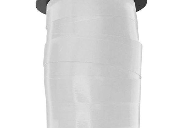 Bobinette métal blanc 10mmx10m - DRAEGER