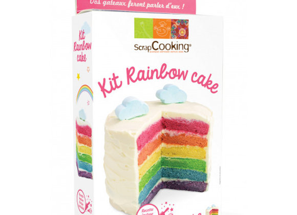 Kit Rainbow Cake - Scrapcooking