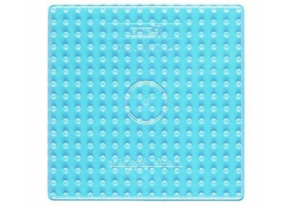 """plaque carré grand modèle transparent 8214 pour perles à repasser """"maxi"""" - Ham"""