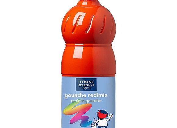 Gouache ' rouge vermillon' 1L - Lefranc Bourgeois -