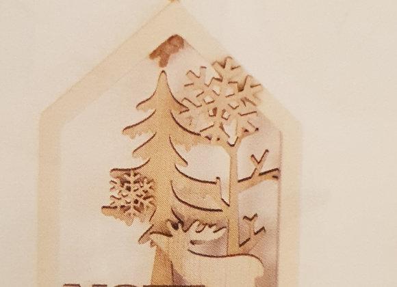 Cadre suspension de Noël à décorer - Graine Créative