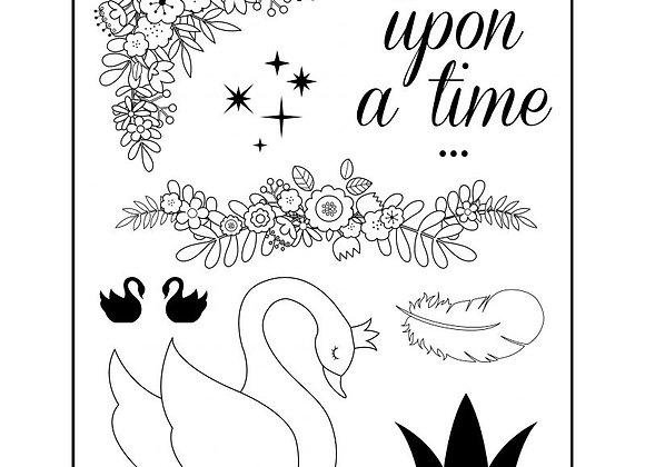 Set de tampons transparents - Lovely Swan - 10001351 - Artemio