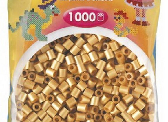 "Perles à repasser ""midi"" couleur or 207-61 x1000 - Hama"
