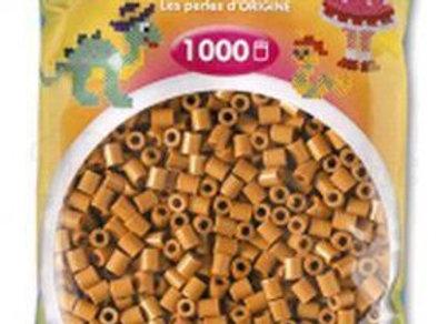 """Perles à repasser """"midi"""" couleur marron clair 207-21 x1000 - Hama"""