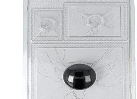 Blocs positionneurs pour Tampons Transparents avec Poignée, Artemio 18002095