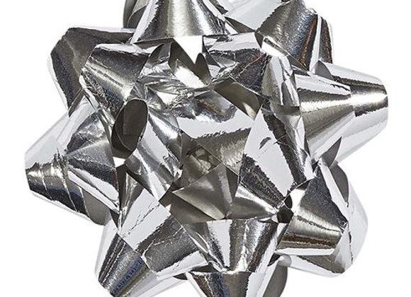 Etoile métal argenté - Draeger