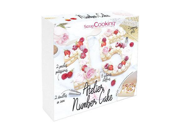 ATELIER NUMBER CAKE - SCRAPCOOKING