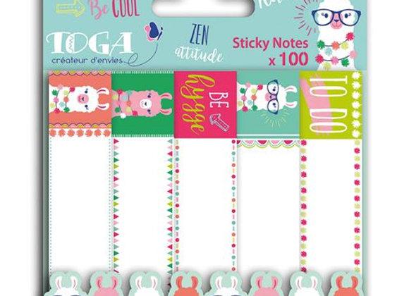 Sticky notes Lama x100 - str202 Toga
