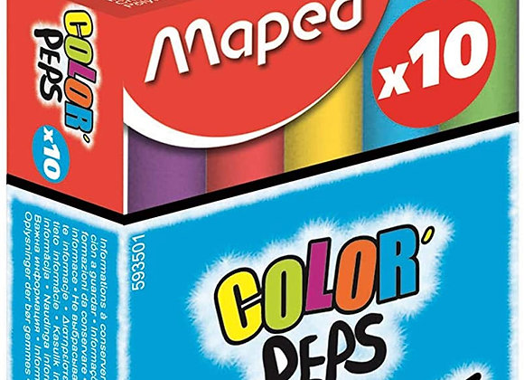 craies couleurs assorties  Color'peps - Maped